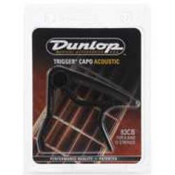 Jim Dunlop 83CB Acoustic Trigger Black Capos