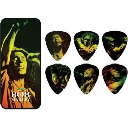 Jim Dunlop Bob Marley Reggae 6lı Pena Seti (Medium)