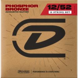 Jim Dunlop DAP1252J Medium 12 Telli Akustik Gitar Teli (12/12–52/30)