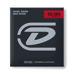 Jim Dunlop DBFS40120M Bass Flat Set Bas Gitar Teli (40-105)