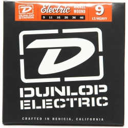 Jim Dunlop DEN0946 Nickel Wound Light Elektro Gitar Teli (9-46)
