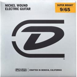 Jim Dunlop DESBN0965 Super Bright Light 8 Telli Elektro Gitar Teli (09-65)