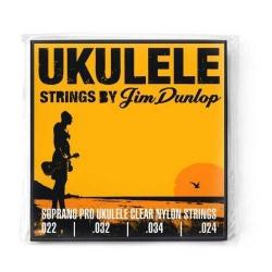 Jim Dunlop DUY301 Soprano Pro 4'lü Ukulele Teli