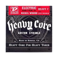 Jim Dunlop Heavy Core  7 Telli Elektro Gitar Teli (.010–.060)