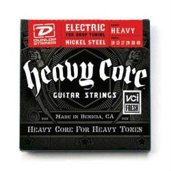 Jim Dunlop Heavy Core Elektro Gitar Teli (10-48)