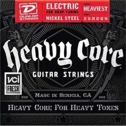 Jim Dunlop Heavy Core Elektro Gitar Teli (12-54)