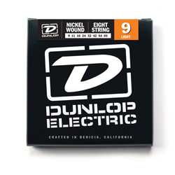 Jim Dunlop Nickel 8 Telli Elektro Gitar Teli (09-65)