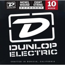 Jim Dunlop Nickel 8 Telli Elektro Gitar Teli (10-74)