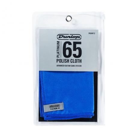 Jim Dunlop P65MF12 Platinum 65 Suede Microfiber Temizleme Bezi<br>Fotoğraf: 1/1