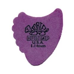 Jim Dunlop Tortex Fin Pena (1.14mm)