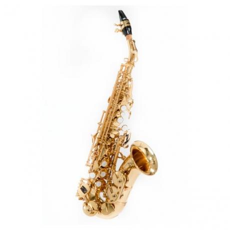 Jinbao JBSSC310GL Soprano Saksafon (Gold Lacquer)<br>Fotoğraf: 1/1