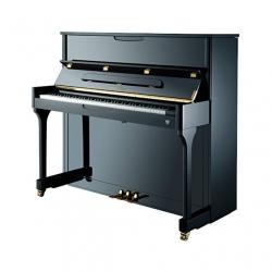 Johannes Seiler Model 110 Upright Duvar Piyanosu (Siyah)