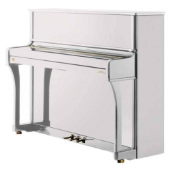 Johannes Seiler Model 114 Traditio Akustik Duvar Piyanosu (Parlak Beyaz)