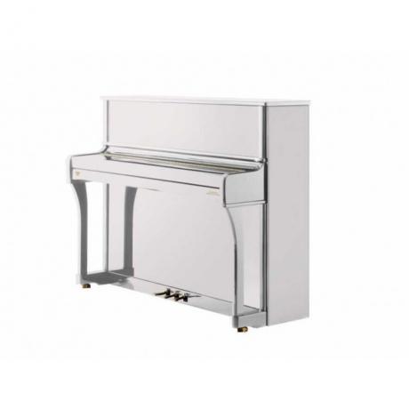 Johannes Seiler Model 118 Tradito Akustik Duvar Piyanosu (Beyaz)<br>Fotoğraf: 1/1