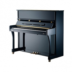 Johannes Seiler Model 122 Tradito Akustik Duvar Piyano (Siyah)