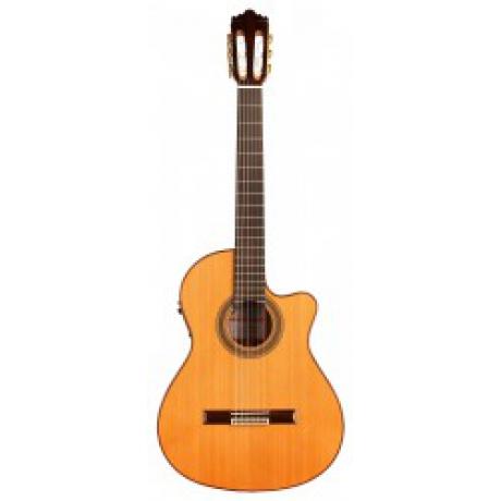 Jose Ramirez 2N CWE Sedir Elektro Klasik Gitar w/Case<br>Fotoğraf: 1/1