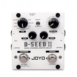 Joyo D-SEED Dual Channel Digital Delay Pedalı