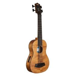 Kala Exotic Maun Fretted Akustik Bas Gitar (Natural)