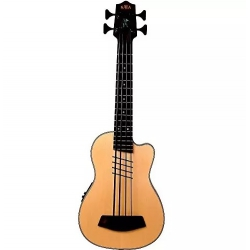 Kala Hutch Hutchinson Signature Akustik Bas Gitar (Natural)