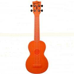 Kala KA-SWB-OR Waterman Soprano Ukulele (Orange)