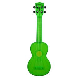 Kala KA-SWF-GN Waterman Soprano Ukulele (Transparan Yeşil)