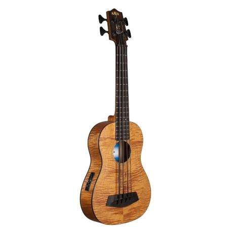 Kala U-bass Exotic Maun Fretted Akustik Bas Gitar<br>Fotoğraf: 1/1