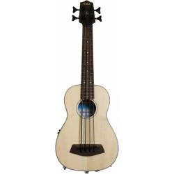 Kala U-Bass Ladin Akustik Mini Bas Gitar