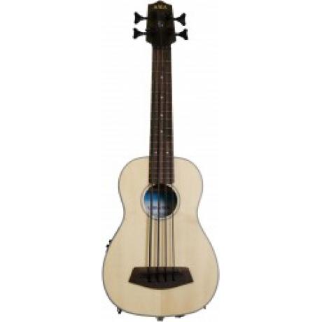 Kala U-Bass Ladin Akustik Mini Bass Gitar<br>Fotoğraf: 5/5