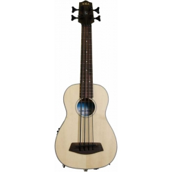 Kala U-Bass Ladin Akustik Mini Bass Gitar