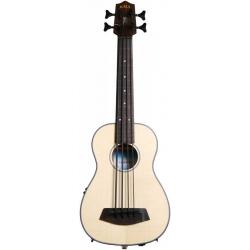 Kala U-Bass Ladin Perdesiz Akustik Mini Bas Gitar