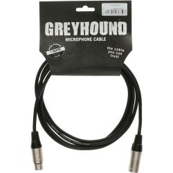 Klotz GRG1FM05.0 Greyhound 5 Metre Mikrofon Kablosu (Siyah)