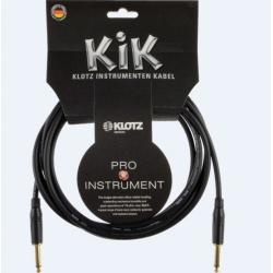 Klotz  KIK 4,5m. Siyah Standart Enstrüman Kablosu KIKA045PP1