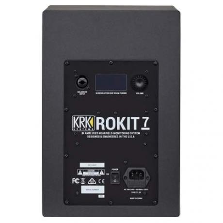 KRK Rokit RP7 G4 7 Inch Near-Field Aktif Stüdyo Monitörü (Siyah)<br>Fotoğraf: 3/3
