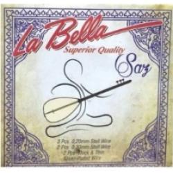 La Bella LBH20 Uzun Sap Bağlama Teli (0,20)