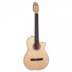 La Patrie Arena Flame Maple CW Crescent II Elektro Klasik Gitar