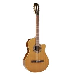La Patrie Concert CW Qi Elektro Klasik Gitar (Natural)