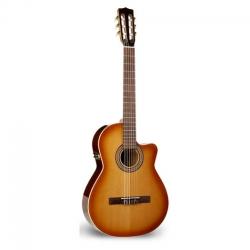 La Patrie Hybrid CW Crescent  Elektro Klasik Gitar (Light Burst)
