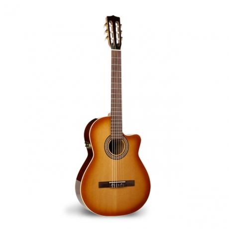 La Patrie Hybrid Cw Qii Elektro Klasik Gitar (Light Burst)<br>Fotoğraf: 1/1