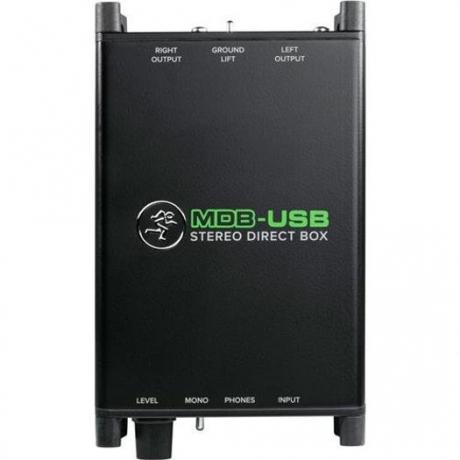 Mackie MDB-USB Stereo Direct Box<br>Fotoğraf: 2/4