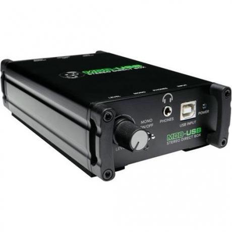 Mackie MDB-USB Stereo Direct Box<br>Fotoğraf: 1/4