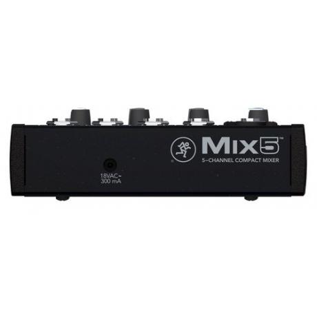Mackie Mix5 5 Kanal Deck Mikser<br>Fotoğraf: 3/3