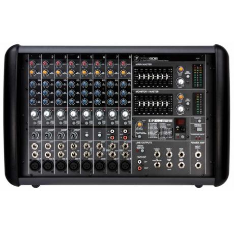 Mackie PPM608 8 Kanal Power Mikser<br>Fotoğraf: 1/3