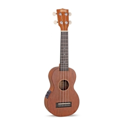Mahalo Java Series Soprano Ukulele (Transparent Brown)