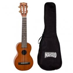 Mahalo MJ1CSVNA Concert Neck Soprano Ukulele (Vintage Natural)