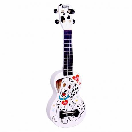 Mahalo Soprano Ukulele (Dalmatian White)<br>Fotoğraf: 1/1