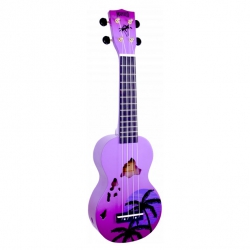 Mahalo Soprano Ukulele (Hawaii Purple Burst)