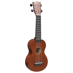 Mahalo Soprano Ukulele (Transparent Brown)
