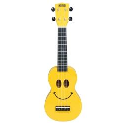 Mahalo U/SMILE Soprano Ukulele (Sarı)