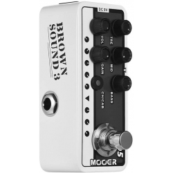 Mooer 005 Brown Sound 3 Mikro Preamp Pedal