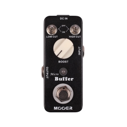 Mooer MBF1 Micro Buffer Boost & EQ Pedalı